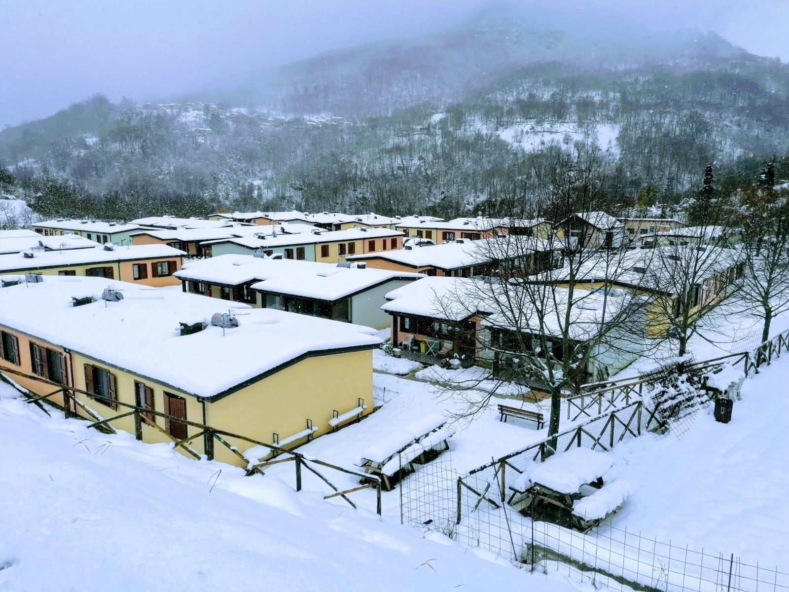 Borgo 1, complesso di soluzioni abitative emergenziali, ad Arquata del Tronto